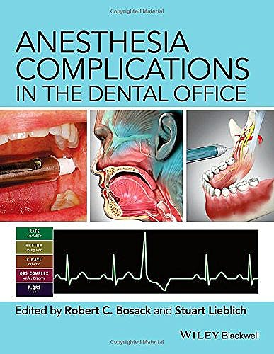 Portada del libro 9780470960295 Anesthesia Complications in the Dental Office