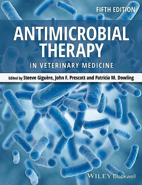 Portada del libro 9780470963029 Antimicrobial Therapy in Veterinary Medicine