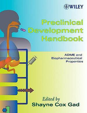 Portada del libro 9780471213833 Preclinical Development Handbook, 2 Vols.