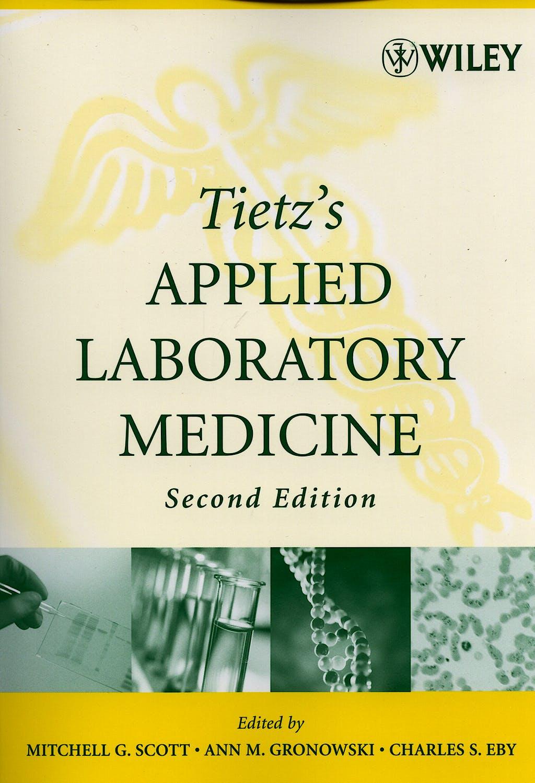 Portada del libro 9780471714576 Tietz's Applied Laboratory Medicine