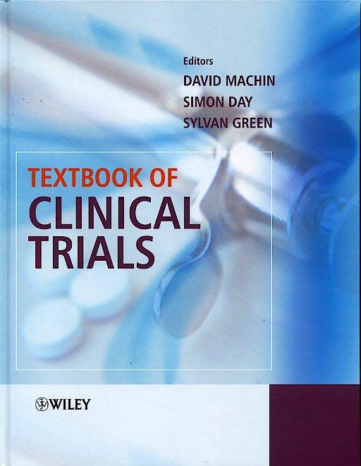 Portada del libro 9780471987871 Textbook of Clinical Trials