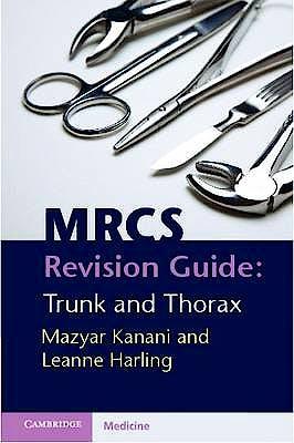 Portada del libro 9780521145510 Mrcs Revision Guide: Trunk and Thorax