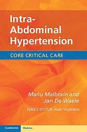 Portada del libro 9780521149396 Intra-Abdominal Hypertension. Core Critical Care