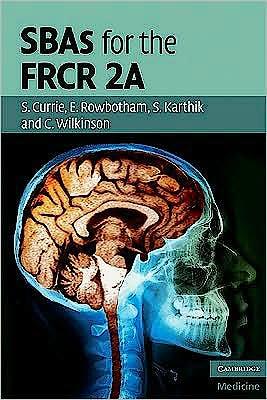 Portada del libro 9780521156448 Sbas for the Frcr 2a