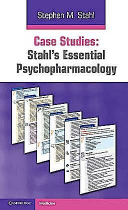 Portada del libro 9780521182089 Stahl's Essential Psychopharmacology. Case Studies
