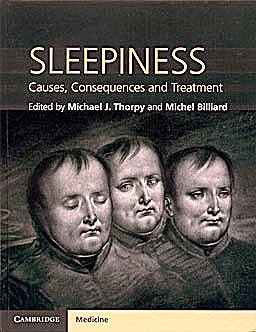 Portada del libro 9780521198868 Sleepiness. Causes, Consequences and Treatment