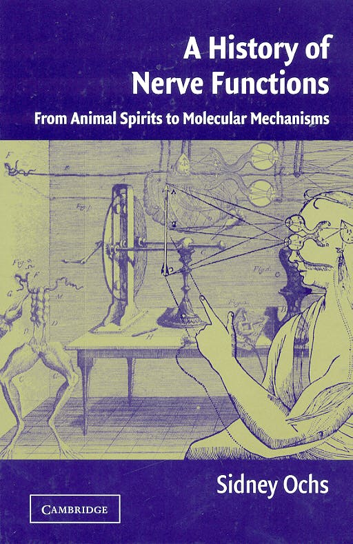 Portada del libro 9780521247429 A History of Nerve Functions: From Animal Spirits to Molecular Mechani