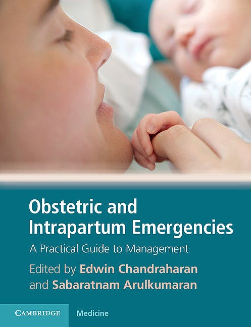 Portada del libro 9780521268271 Obstetric and Intrapartum Emergencies. A Practical Guide to Management