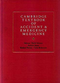 Portada del libro 9780521433792 Cambridge Textbook of Accident & Emergency Medicin