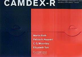 Portada del libro 9780521462617 Camdex-R. the Cambridge Examination for Mental Disorders Elderly