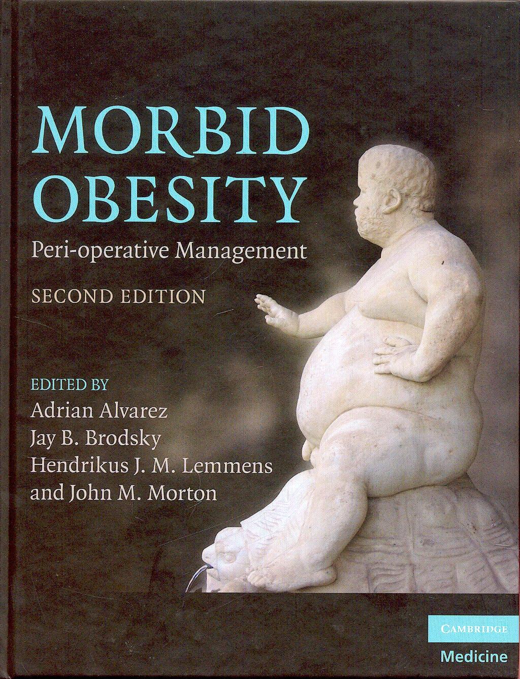 Portada del libro 9780521518840 Morbid Obesity. Peri-Operative Management