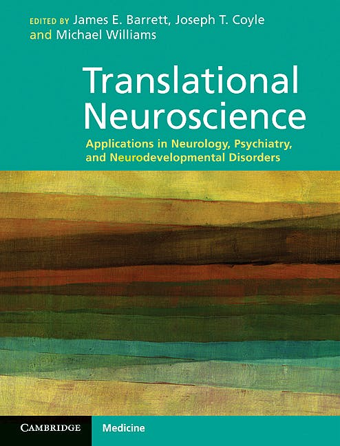Portada del libro 9780521519762 Translational Neuroscience