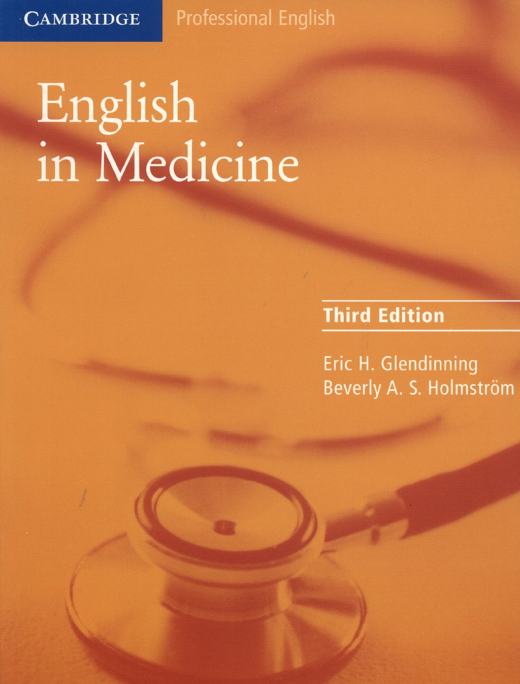Portada del libro 9780521606660 English in Medicine. a Course in Communication Skills. Intermediate