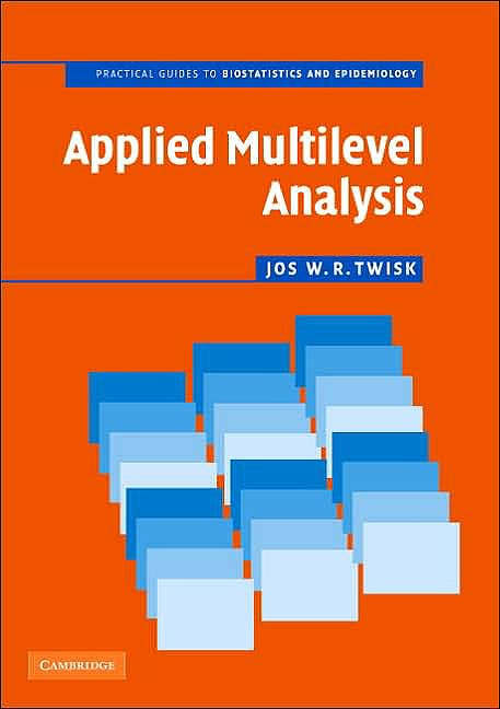 Portada del libro 9780521614986 Applied Multilevel Analysis. a Practical Guide for Medical Researchers