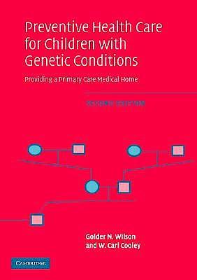 Portada del libro 9780521617345 Preventive Health Care for Children with Genetic Conditions