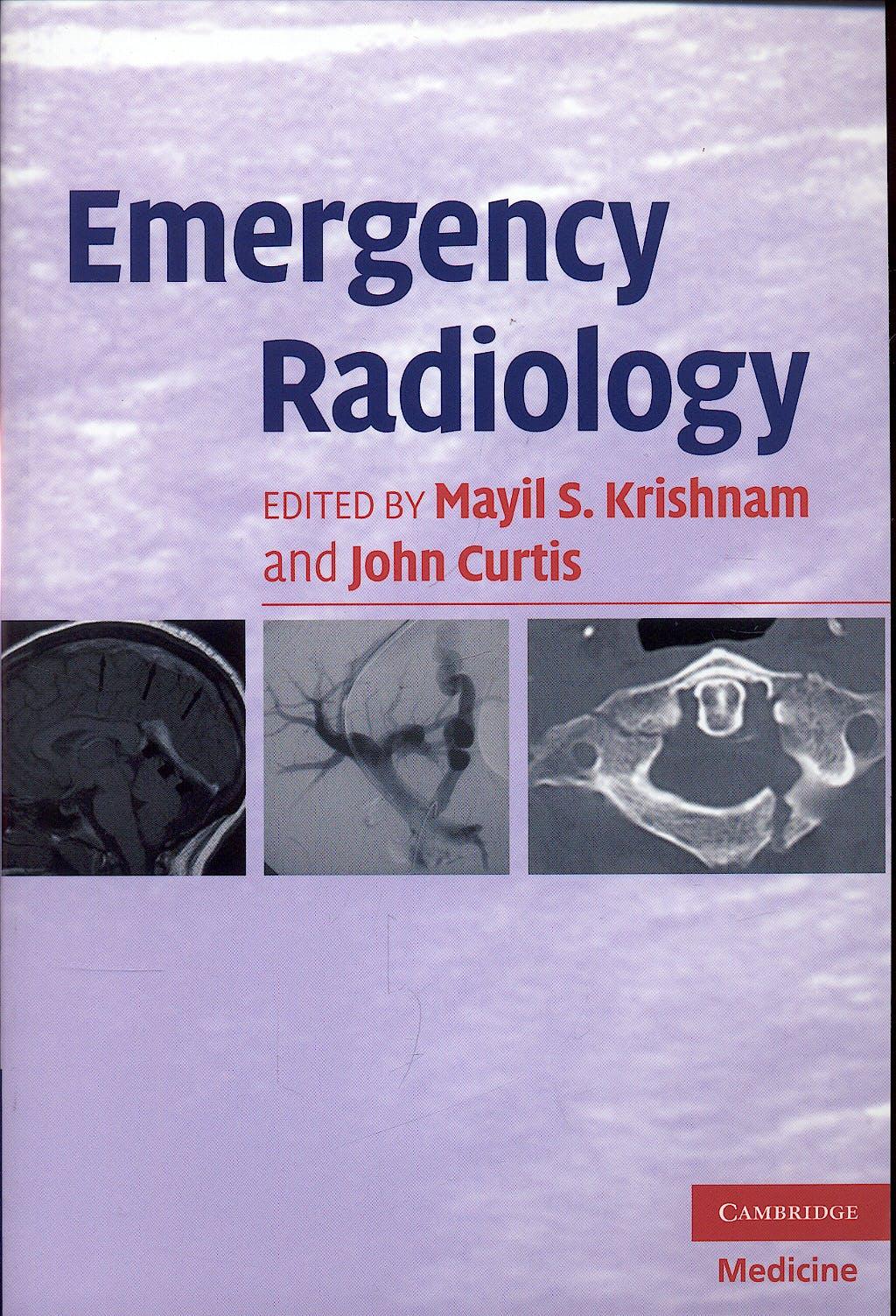 Portada del libro 9780521672474 Emergency Radiology