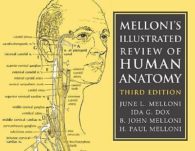 Portada del libro 9780521676281 Melloni's Illustrated Review of Human Anatomy