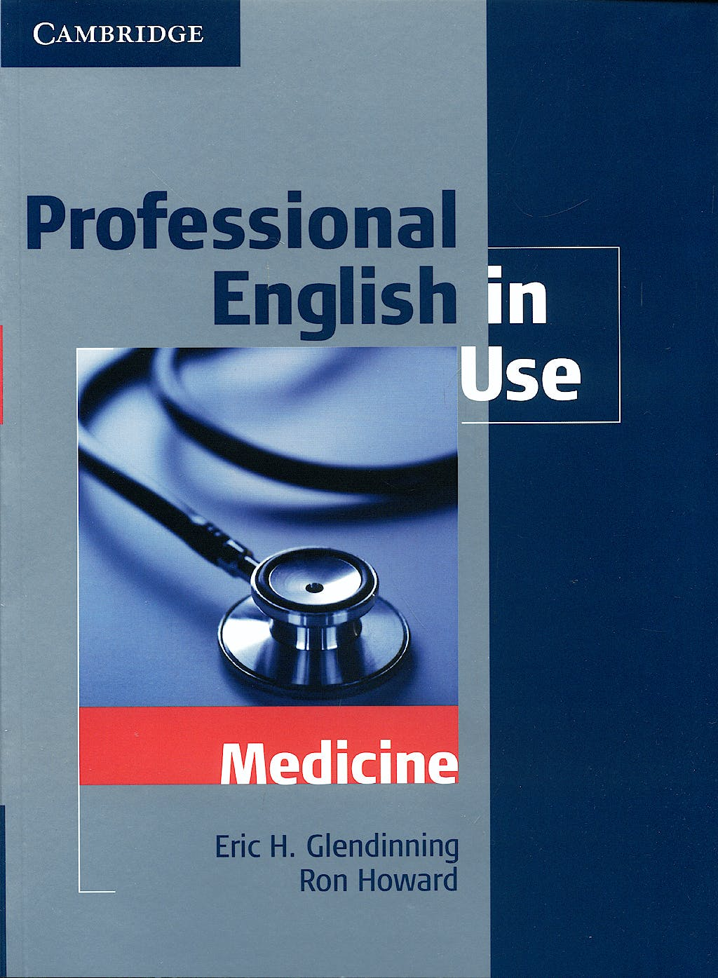 Portada del libro 9780521682015 Professional English in Use Medicine