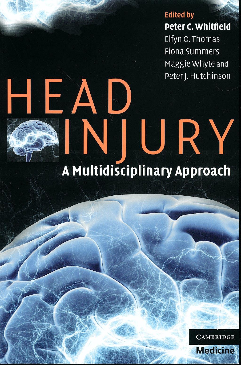 Portada del libro 9780521697620 Head Injury. a Multidisciplinary Approach