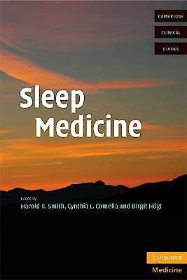 Portada del libro 9780521699570 Sleep Medicine (Cambridge Clinical Guides)