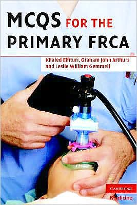 Portada del libro 9780521705097 MCQs for the Primary FRCA
