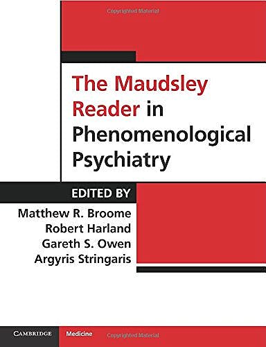 Portada del libro 9780521709279 The Maudsley Reader in Phenomenological Psychiatry