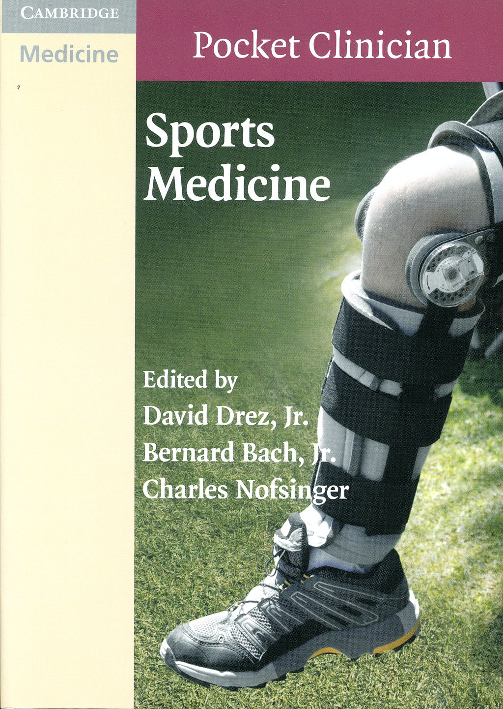 Portada del libro 9780521735261 Sports Medicine (Cambridge Pocket Clinicians)