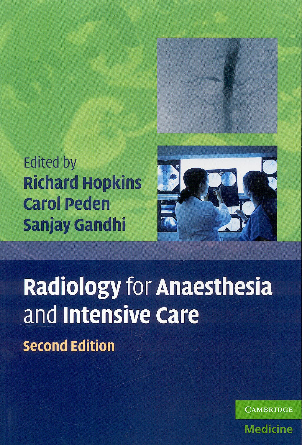 Portada del libro 9780521735636 Radiology for Anaesthesia and Intensive Care