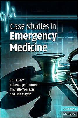 Portada del libro 9780521736480 Case Studies in Emergency Medicine