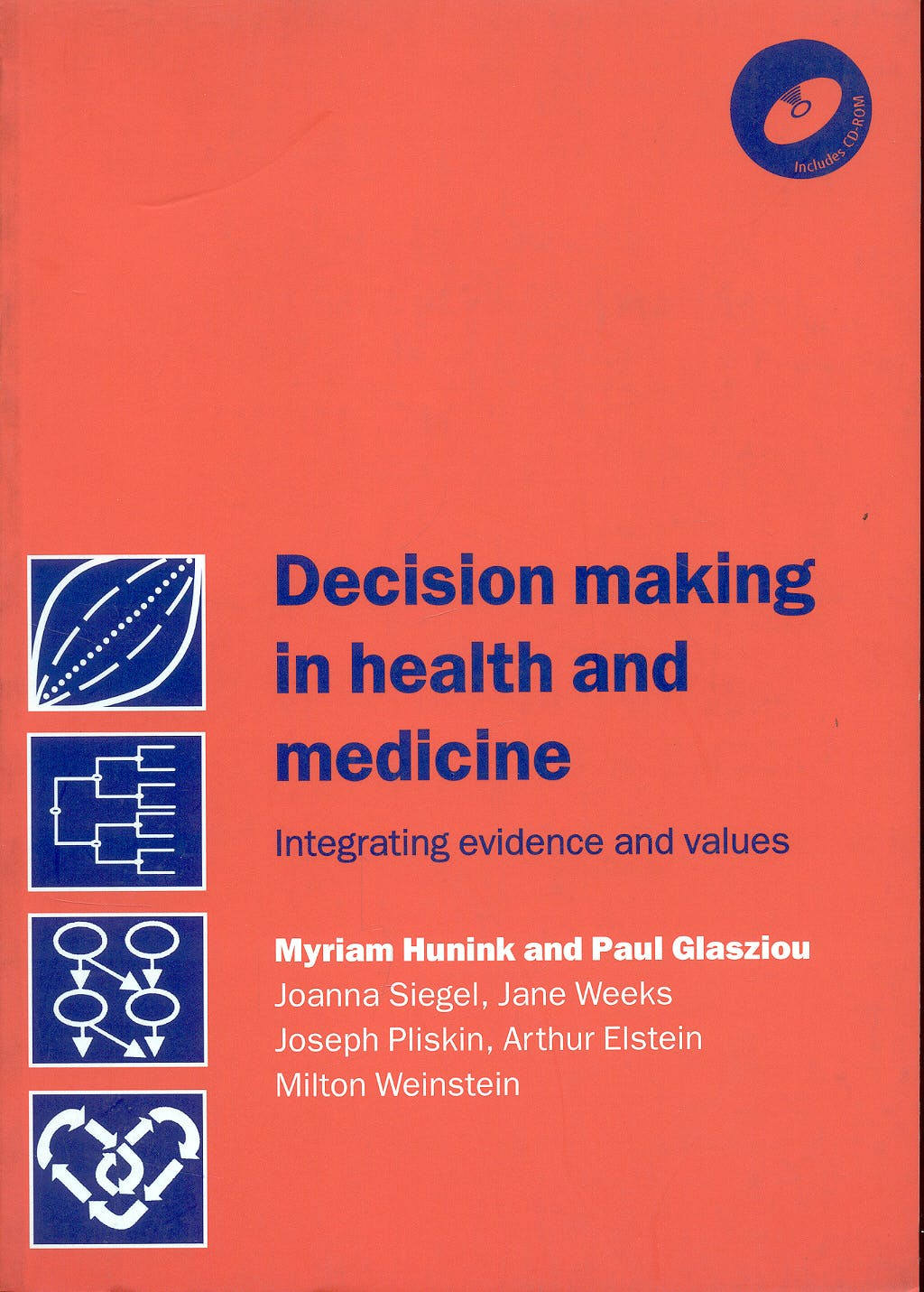 Portada del libro 9780521770293 Decision Making in Health and Medicine. Integrating Evidence and Values