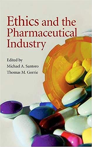 Portada del libro 9780521854962 Ethics and the Pharmaceutical Industry