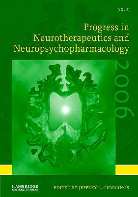 Portada del libro 9780521862530 Progress in Neurotherapeutics and Neuropsychopharmacology, Vol. 1