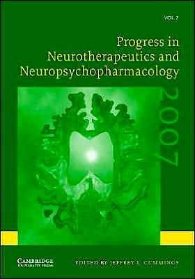 Portada del libro 9780521862547 Progress in Neurotherapeutics and Neuropsychopharmacology, Vol. 2