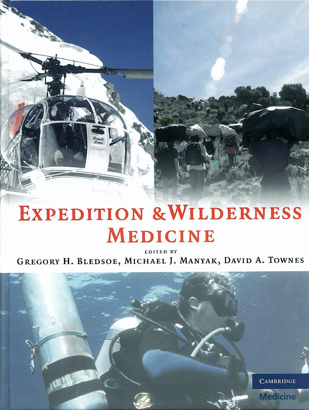 Portada del libro 9780521868730 Expedition and Wilderness Medicine