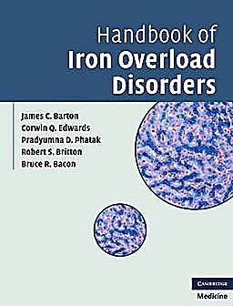Portada del libro 9780521873437 Handbook of Iron Overload Disorders