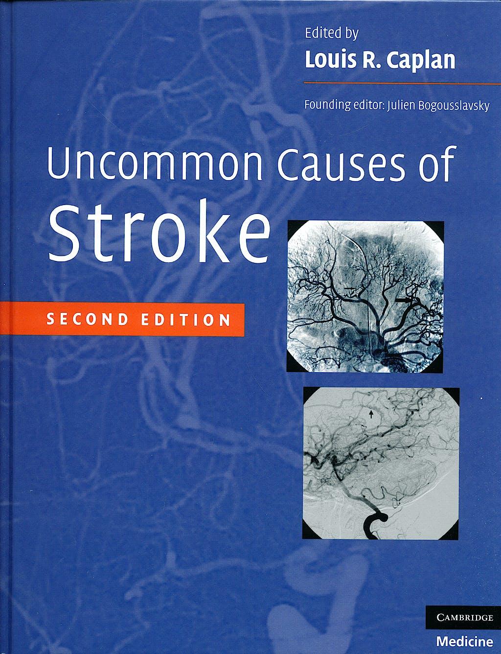 Portada del libro 9780521874373 Uncommon Causes of Stroke