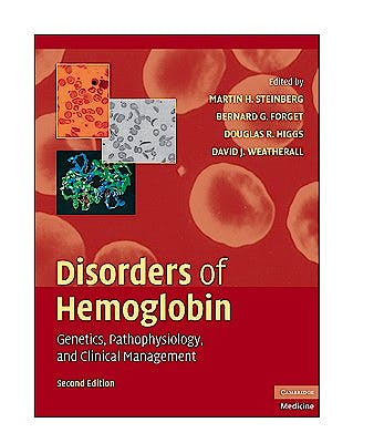Portada del libro 9780521875196 Disorders of Hemoglobin. Genetics, Pathophysiology, and Clinical Management