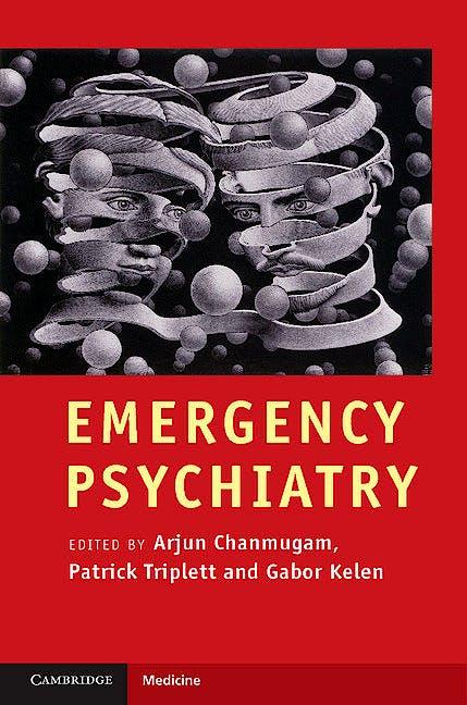 Portada del libro 9780521879262 Emergency Psychiatry