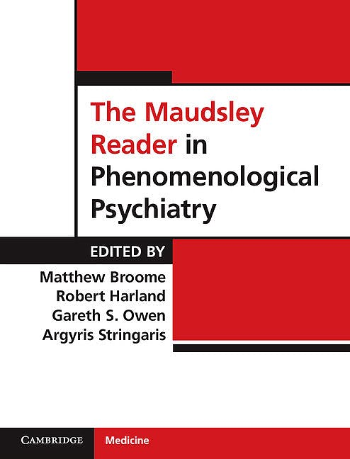 Portada del libro 9780521882750 The Maudsley Reader in Phenomenological Psychiatry (Hardcover)