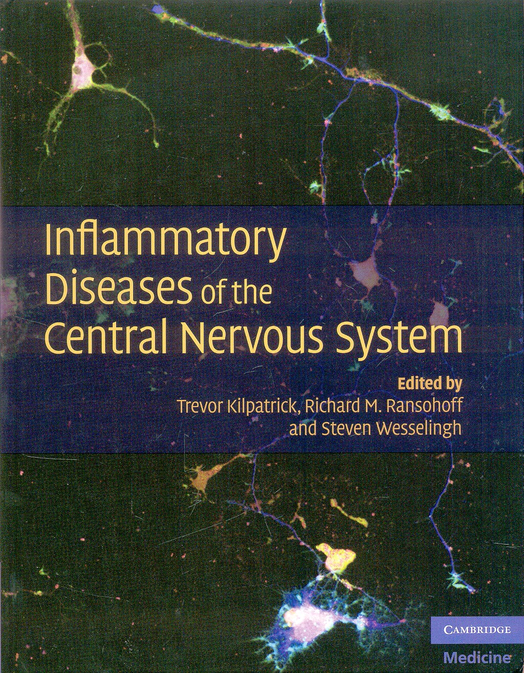 Portada del libro 9780521888745 Inflammatory Diseases of the Central Nervous System