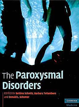 Portada del libro 9780521895293 The Paroxysmal Disorders