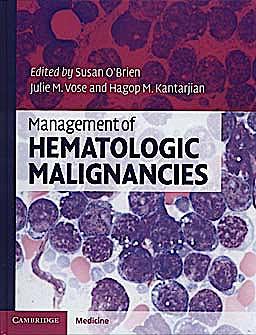 Portada del libro 9780521896405 Management of Hematologic Malignancies