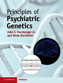 Portada del libro 9780521896498 Principles of Psychiatric Genetics
