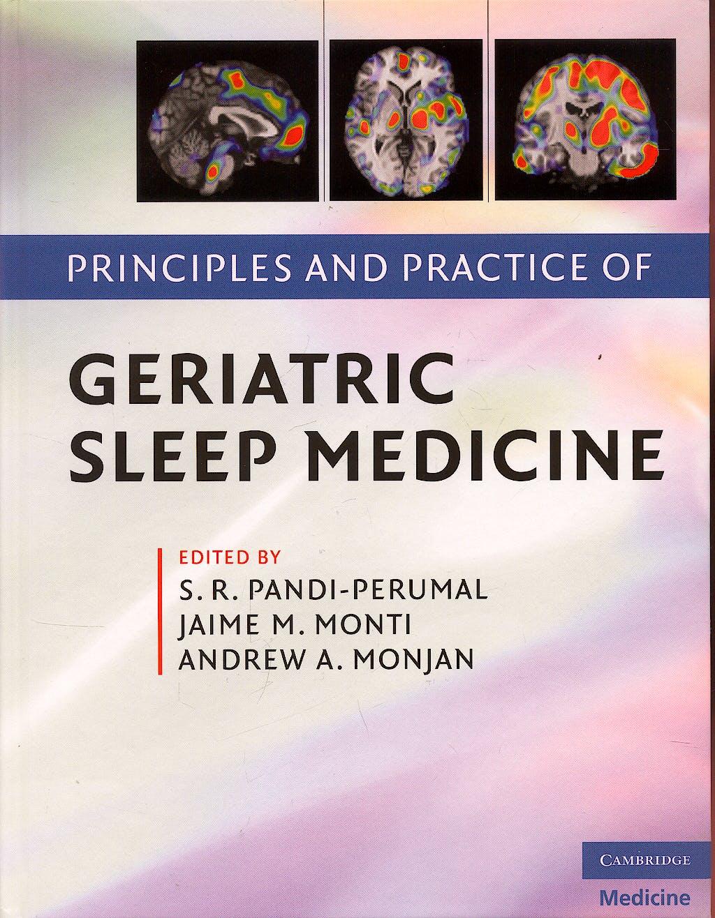Portada del libro 9780521896702 Principles and Practice of Geriatric Sleep Medicine