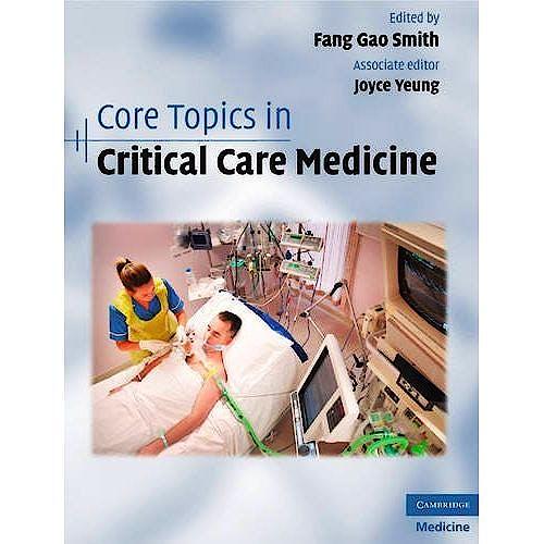 Portada del libro 9780521897747 Core Topics in Critical Care Medicine