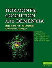 Portada del libro 9780521899376 Hormones, Cognition and Dementia. State of the Art and Emergent Therapeutic Strategies