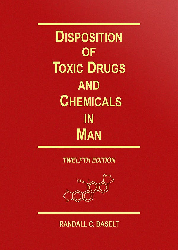 Portada del libro 9780578577494 Disposition of Toxic Drugs and Chemicals in Man