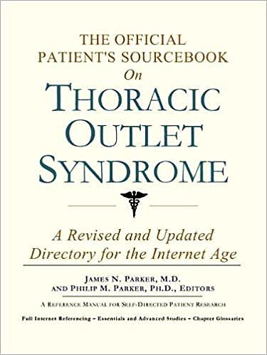 Portada del libro 9780597831034 The Official Patient's Sourcebook on Thoracic Outlet Syndrome