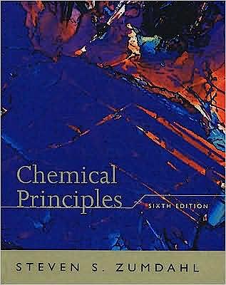 Portada del libro 9780618946907 Zumdahl Chemical Principles Sixth Edition