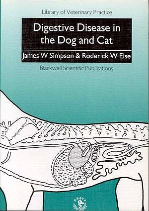 Portada del libro 9780632029310 Digestive Disease in the Dog and Cat